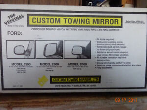 EXTENDED TOWING TRUCK MIRRORS
