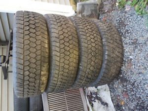 4 Winter Tires, LT275/65R20, Toyo WLT1 Open country