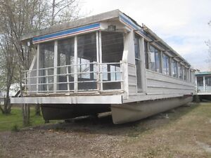 60 FOOT HOUSE BOAT BASE AND FRAME FOR SALE