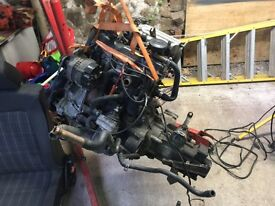 VW golf mk2 Gti engine and gearbox