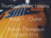 Guitar and Voice Lessons