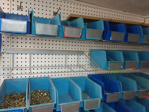 Shelving for nails and squirrels and any other thing you