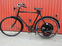 CYCLEMASTER 32cc 1952 FITTED TO GENTS RALEIGH BICYCLE V5C-REG.NO. RNN 771