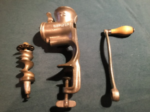 Vintage Universal #72 Meat Grinder Food Cutter Made in U.S.A.