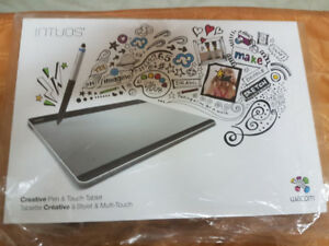 Wacom intuos cth-680 pen and touch tablet