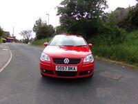 VW POLO 1.4 TDI MATCH 95BHP £30 ROAD TAX