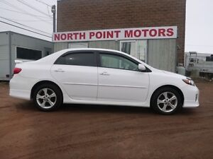 2013 Toyota Corolla S LOADED W 1 YEAR WARRANTY