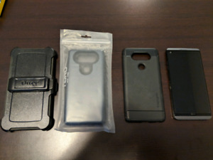 LG V20 with OTTERBOX+++