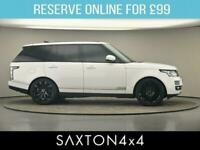 2017 Land Rover Range Rover 3.0 TD V6 Vogue Auto 4WD (s/s) 5dr SUV Diesel Automa