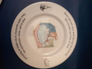 Cups, plates, bowls, mugs, collectable peter rabbit & bunnykins