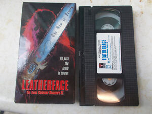 Horror VHS Tapes For Sale, List Inside, Some Rare Horror Movies! London Ontario image 1