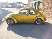 74 std beetle. running and complete