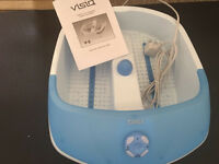 Visiq bubble footspa. Used once. Excellent condition. Collection from Langley Moor.