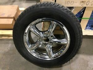 Jeep Grand Cherokee WJ (99 - 04)  Chrome rim & tire