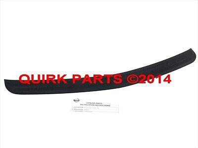 - 2003-2007 Nissan Murano Rear Bumper Step Pad Guard Scratch Protector OEM NEW
