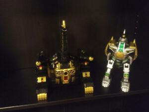 Power Rangers Legacy B/G Titanus, Dragonzord, Thunderzord and mo