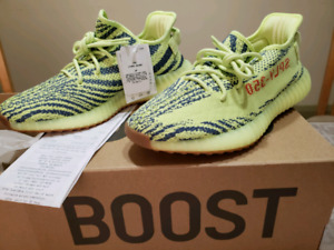 02a38a8e4115c Adidas Yeezy Boost 350 V2 Frozen Yellow Size 9.5