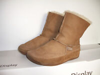"""""""""""FitFlop"""""""" --- shearling boots/ bottines moutons --- size 7 US"""