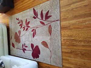 Like new area rug