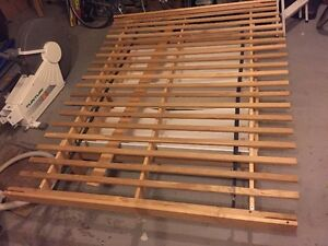 Double Bed Frame with two under drawers on rollars underneath Gatineau Ottawa / Gatineau Area image 1