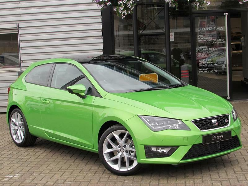seat leon 1 4 ecotsi 150 fr 5 door technology pack green 2016 in aylesbury. Black Bedroom Furniture Sets. Home Design Ideas