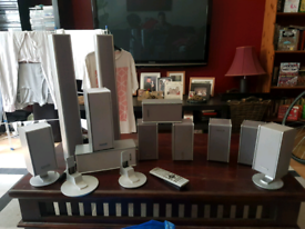 Panasonic speakers 11 altogether £30