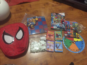 Kids toys , level reader books, spiderman games set