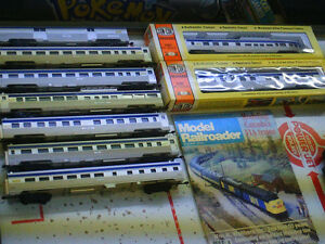 HO scale VIA 1 & 2 Passenger train for electric model trains