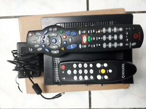 Rogers Cable TV Box & 2 Remotes