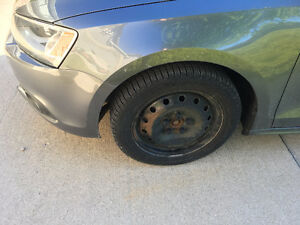 Winter Tires & Rims (from VW Jetta)