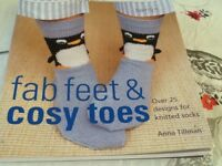 Knitting book- Fab Feet & Cosy Toes by Anna Tillman