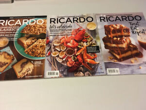 RICARDO Cooking Magazines