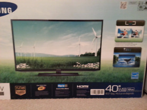 "Samsung 40"" TV brand new"