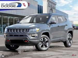 2017 Jeep Compass Trailhawk  HEATED LEATHER | BACKUP CAM | SUNRO