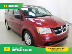 2016 Dodge GR Caravan Value Package A/C GR ELECT 7 PASSAGERS