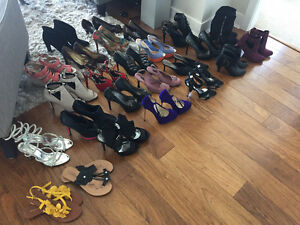 Moving!  25 Pairs of Shoes, Boots & Sandals