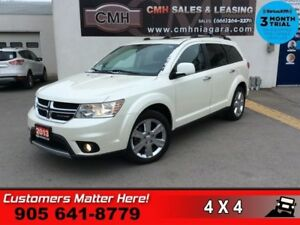 2013 Dodge Journey R/T  AWD NAV ROOF LEATH 7-PASS HS P/SEAT