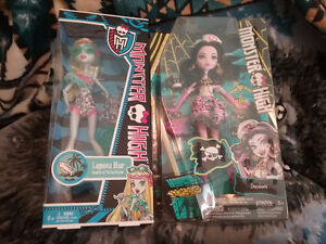 Monster High Dolls and Ever After High Doll