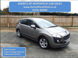 Peugeot 3008 Crossover 1.6 HDi (Diesel) Sport 6sp Manual - 5 Dr MPV - 2009 (59)