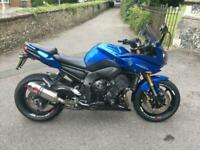 2012 (12) Yamaha FZ8 Fazer 800cc Sport/Tourer - Viper Blue - 33171 miles