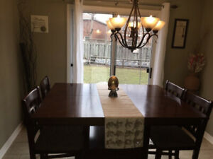 Bar/pub style Kitchen table 8 seater