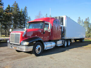 Package deal Utility Reefer Trailer And INT Eagle