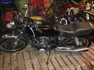 1981 CB 900F Parts Bike.  No Papers