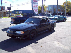 1991 Ford Mustang Convertible GT Manuel