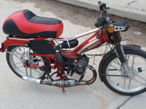 Wanted Honda Ruckus trade (any condition) for Custom moped