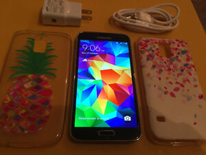 Unlocked Samsung Galaxy S5 16GB Rogers,Bell,Telus and yes Wind!