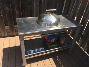 Stainless Steel Charcoal BBQ
