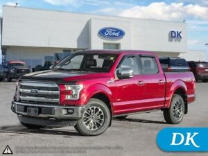 2016 Ford F-150 Lariat 502A w/Leather, Moonroof, Nav, and More!