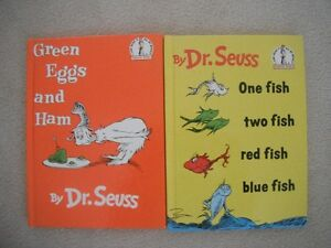 Hardcover Green Eggs & Ham And One Fish Two Fish Books London Ontario image 1