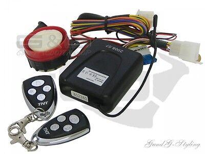 Sistema de Alarma con Marcación E para Moto Ciclomotor Patinete Scooter Quad...